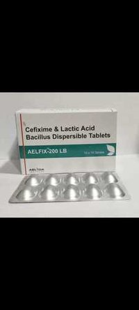 Cefixime Trihydrate And Lactic Acid Bacillus Tablet