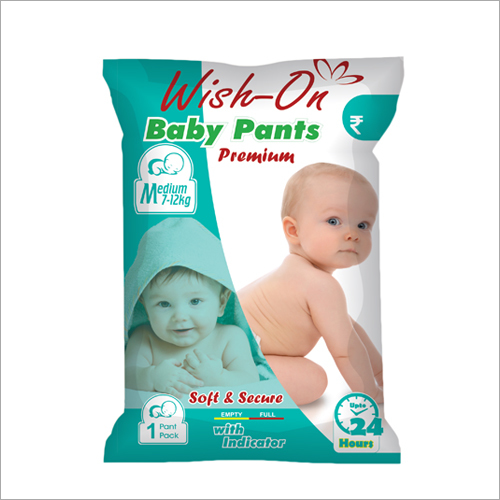 Medium Size Premium Soft And Secure Baby Pants