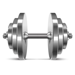 KD Steel Chrome Weight Lifting Plates