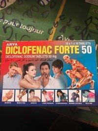 Dheeklofanak / Diclofenac Sodium Tablets Bp 50 Mg