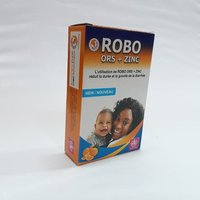 Robo Ors Zinc Kit / Ors + Zinc Kit (2 Sachet Of Ors 21 Gm & 10 Tab Of Zinc) (Cmb)