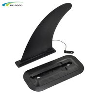 Surfboard central fin with box, nylon set for surf water wave fin, SUP accessories