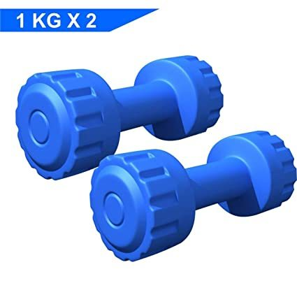 KD PVC Dumbbells Weights Fitness Home Gym Exercise