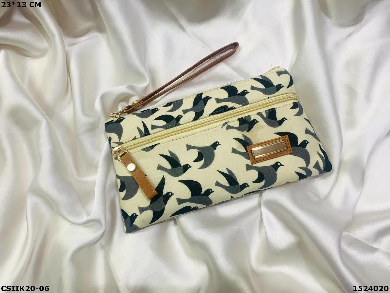 Ikkat Printed Pouches