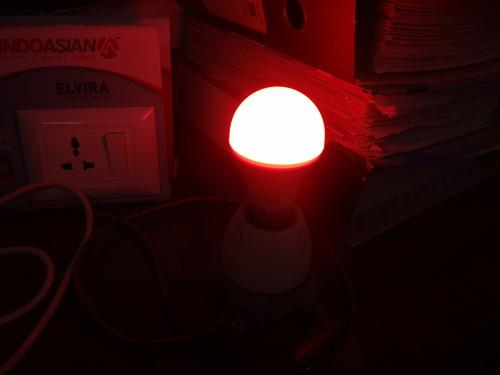 Led 9 Color Magic Bulb
