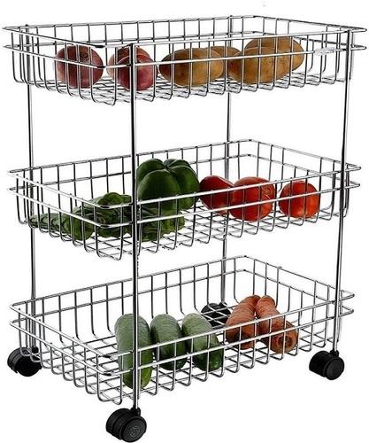 Trolley Modern Kitchen Storage Rack