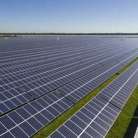 Ground Mounted Solar Power Plant