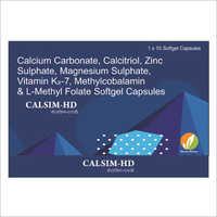 Calcium Carbonate Calcitriol Zinc Sulphate Magnesium Sulphate Vitamin K2-7 Methylcobalamin And L-Methyl Folate Softgel Capsules