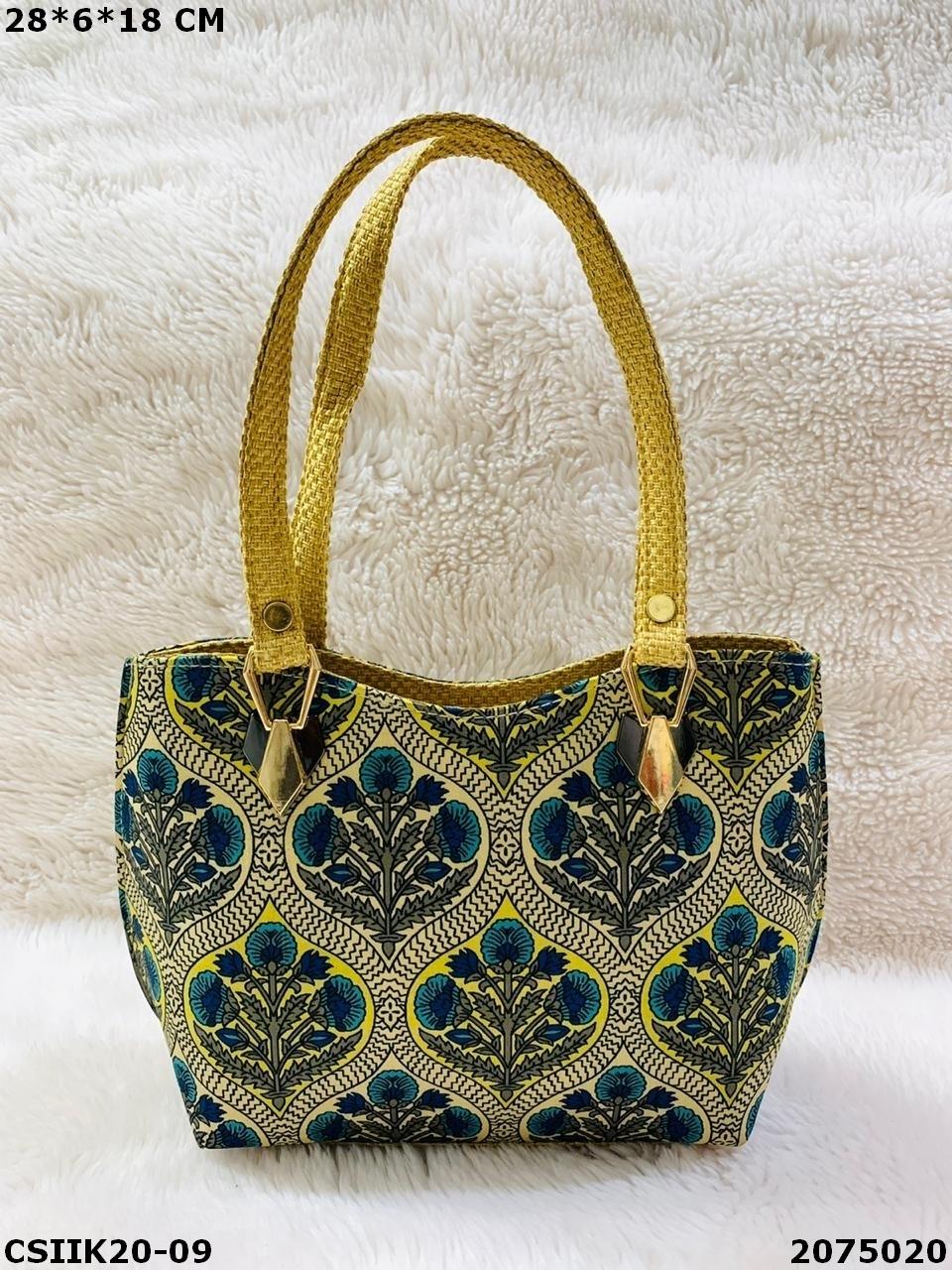 Ikkat Designer Hand Bags