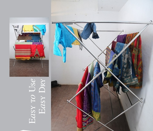 Cloth Drying Foldable Stand In  Thirunelveli