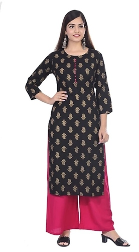 KASHISHIYA  Women Kurta and Palazzo Set