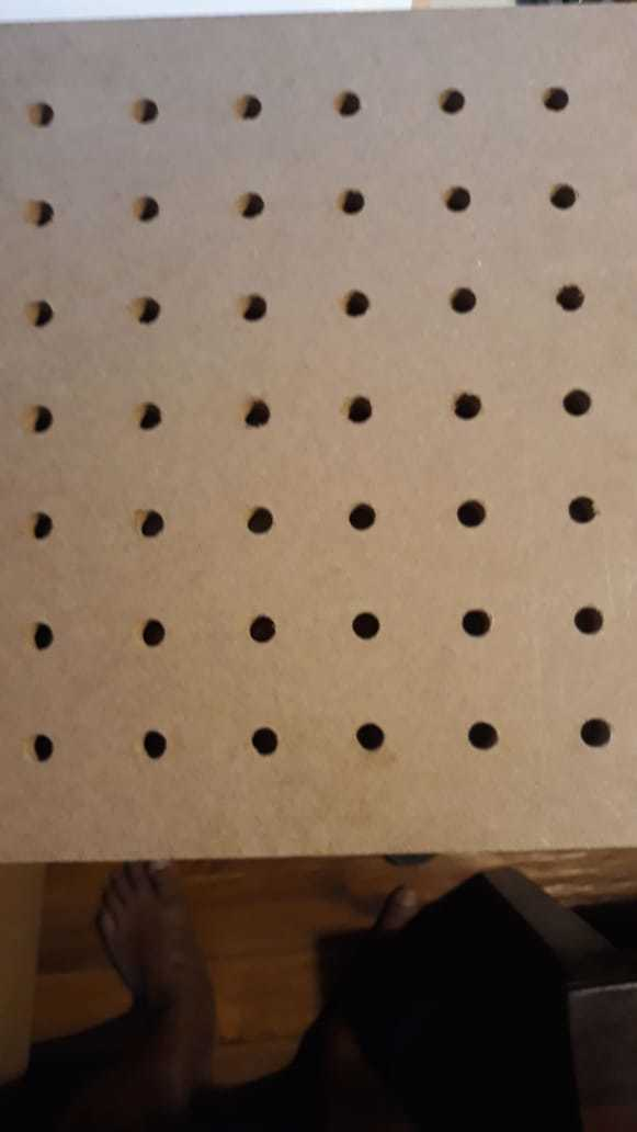 MDF Perforated Acoustic Wall Panel