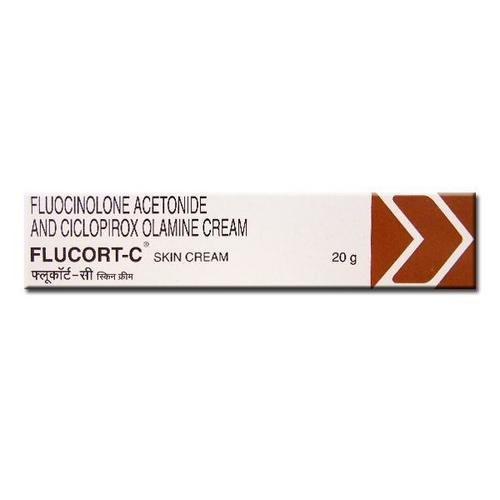 Flucinalone Acetonide And Ciclopiroxolamine Cream