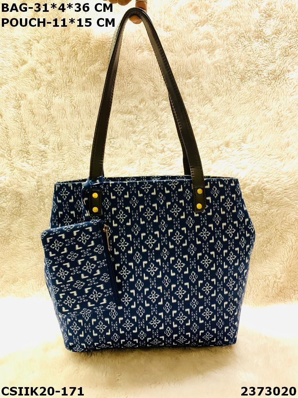 Designer Ikkat Combo Bags