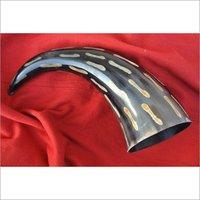 Buffalo Engraved Bone Horn