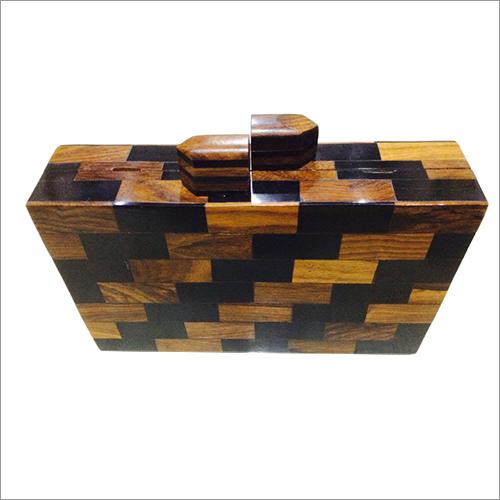 Resin Checkered Purse