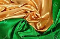 Golden Satin Fabric