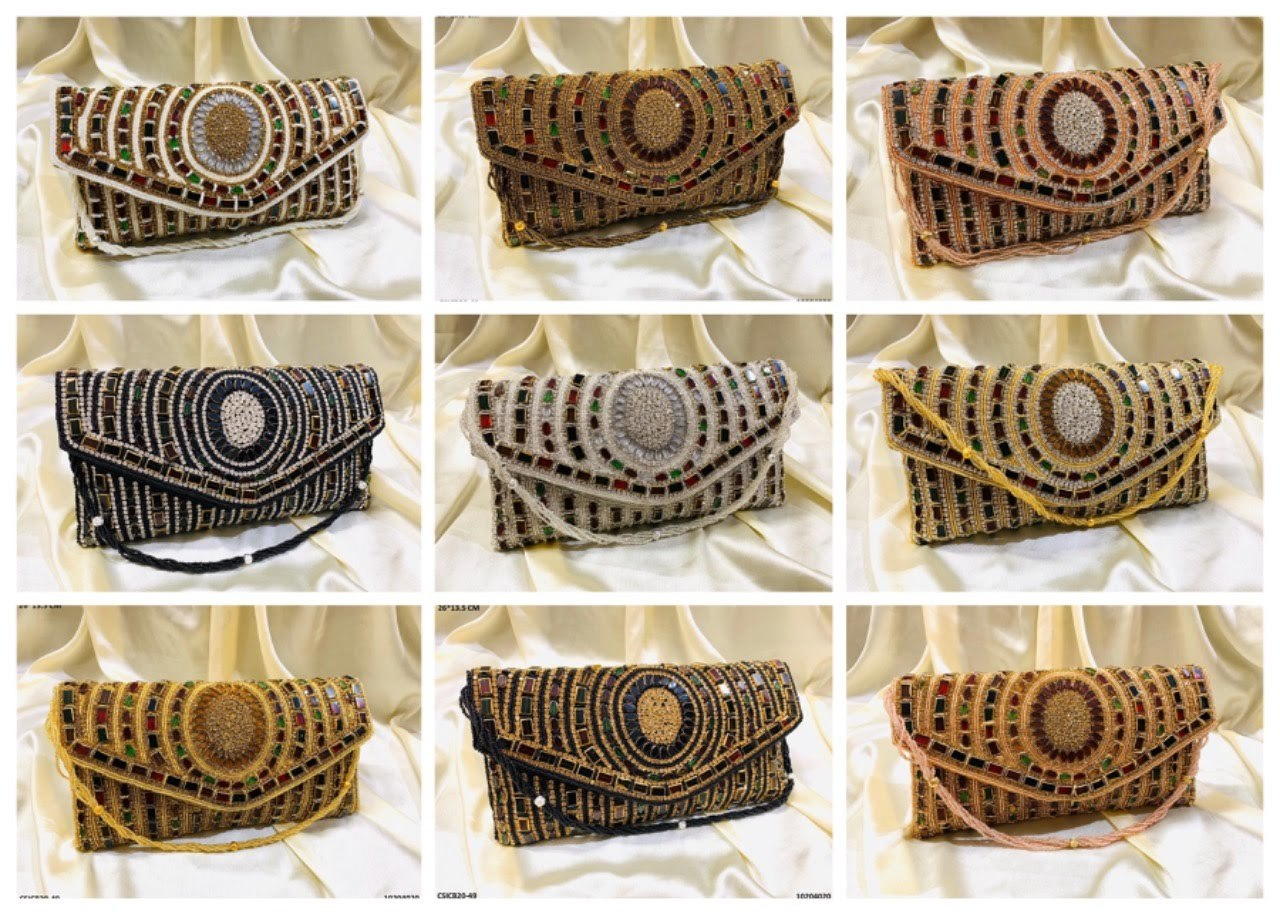 Designer Bridal Clutch Bag