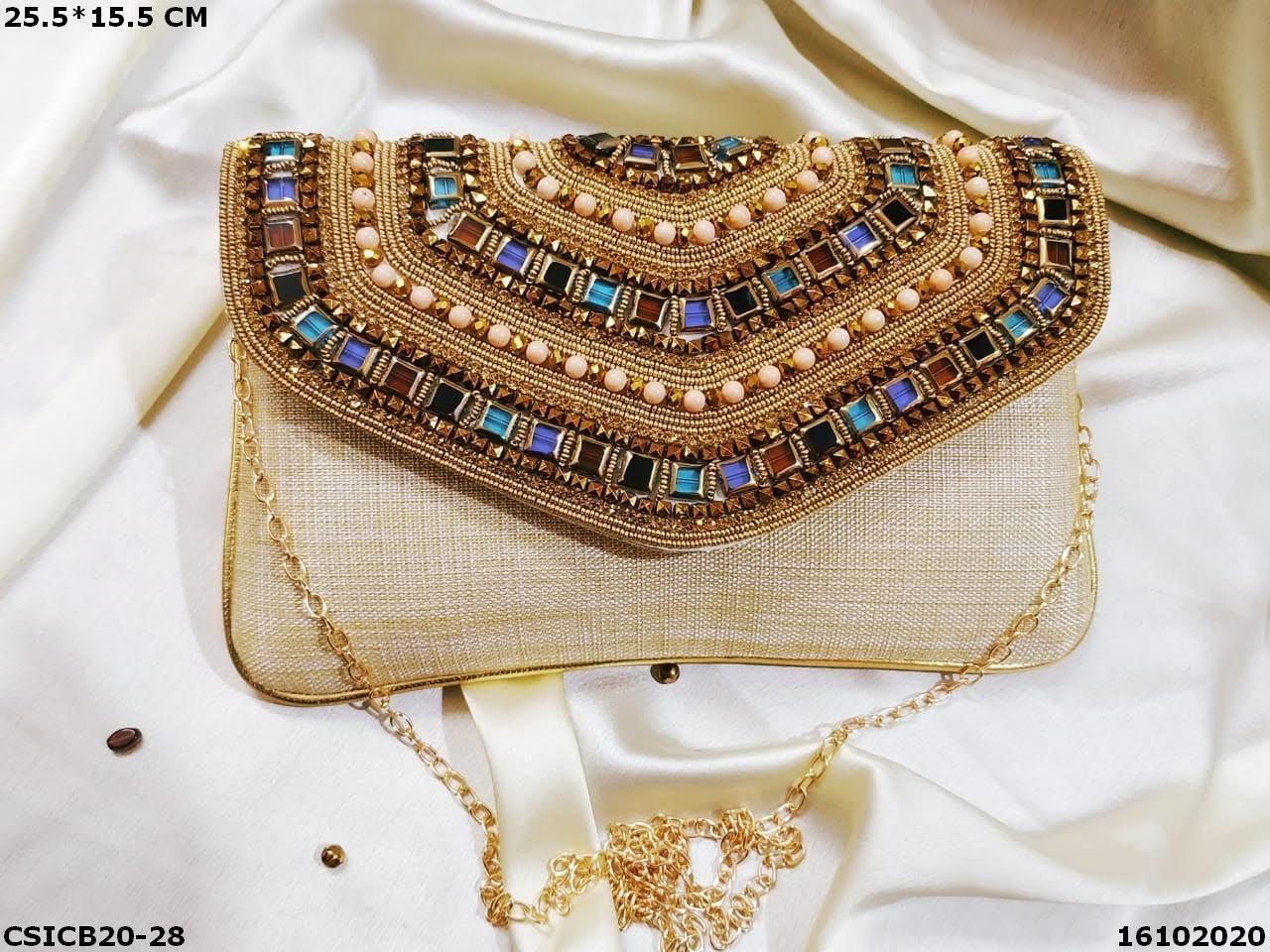 Ethnic Designer Clutch Bag