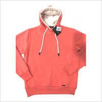 Mens Plain Hooded Sweatshirt