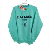 Mens Fleece Round Neck Sweatshirt