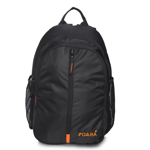 Historage Black Laptop Backpack