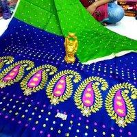 Embrodary Saree