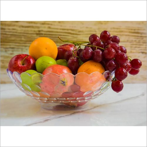 Polycarbonate Fruit Serving Dot Bowl