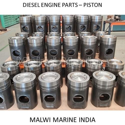 Piston For Diesel Engines