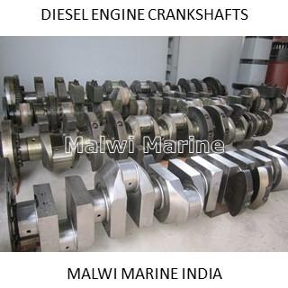 Crankshaft - Marine - Powerplant - Diesel - Engine Supplier India