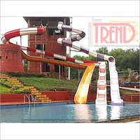 Open & Close Body Water Slide