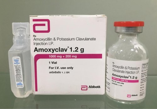 Amoxycillin And Potassium Clavulanate Injection