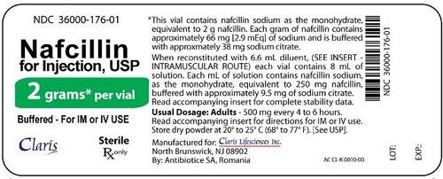 Nafcillin Injection