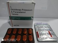 DICLOFENAC POTASSIUM AND PARACETAMOL