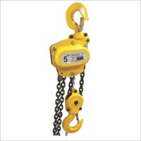 Chain Pulley Block Silver