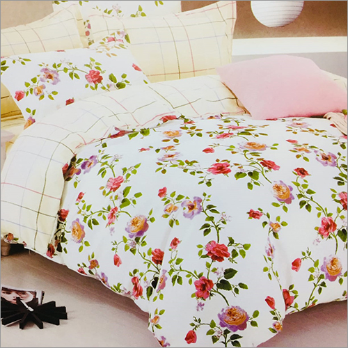 Cotton Printed Comforter Bed Sheet Set