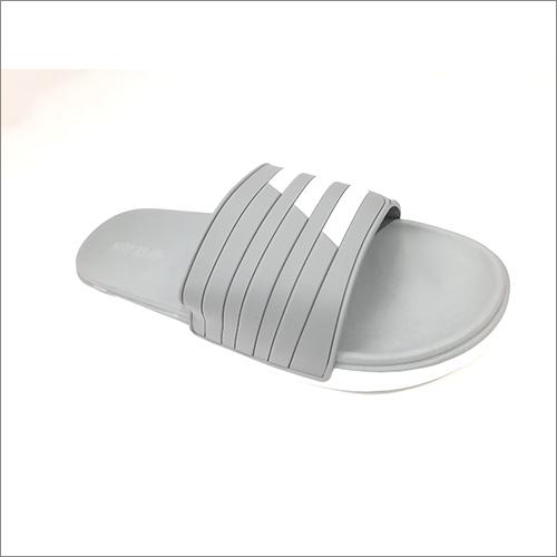 Mens Grey Flip Flops Slipper