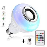 6W Ceramic Bluetooth Music Bulb