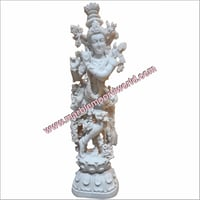 Marble Handcrafted Krishna Statue