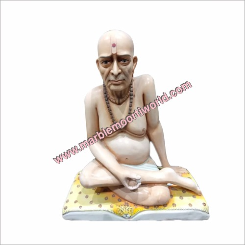 Marble Swami Samarth Maharaja Statue