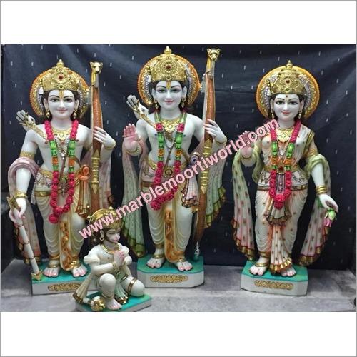 Marble Designer Ram Darbar Statue