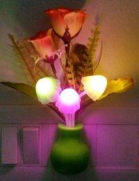 Wall Mounted multy color Mashroom night lamp