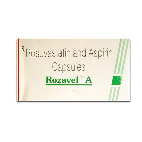 Rosuvastatin and aspirine capsule