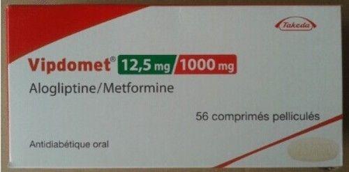 Alogliptin Metformin Tablets
