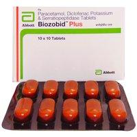 Paracetamol Diclofenac & Serratiopeptidase Tablet