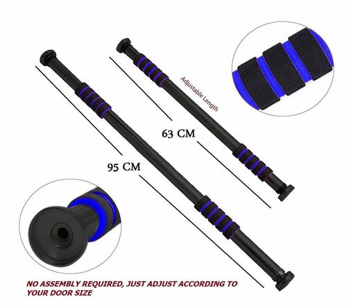 KD Pull-Up, Chin-Up Bar Adjustable to Doors with Width of 65-100cm