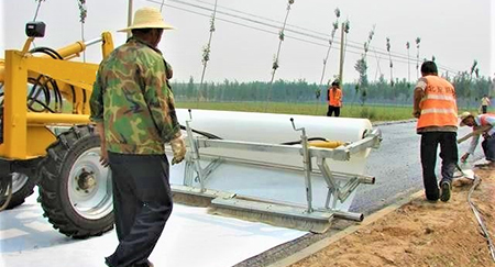Road geotextile