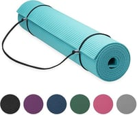 KD Essentials Premium Yoga Mat with Yoga Mat Carrier Sling