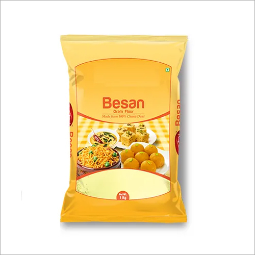 1 KG Besan Packing Bags