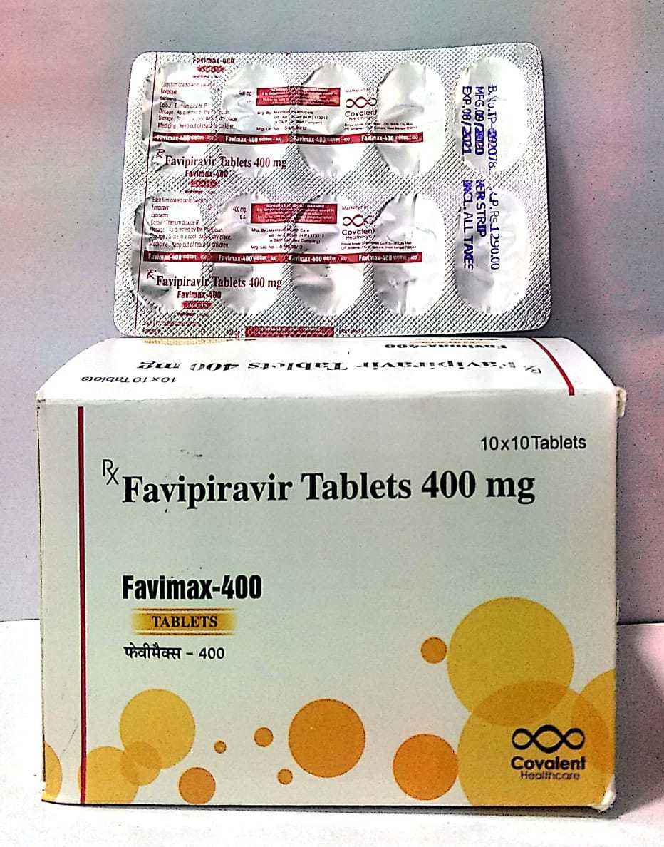 400 mg Favipiravir